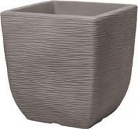 Кашпо Котсуолд S (Square Costwold Planter 32cm) тем.коричневый
